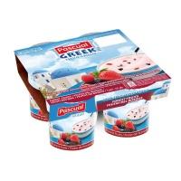 帕斯卡草莓莓果味希腊酸奶(全脂)125g×4