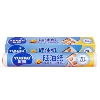 优奥硅油纸 盒装+卷装(30cm*20米)