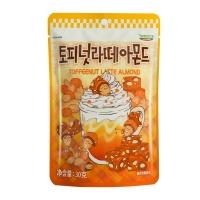 韩国汤姆农场太妃拿铁味扁桃仁30g