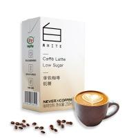 NEVER COFFEE拿铁低糖咖啡250ml
