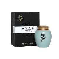 西湖龙井茶韵玄青瓷礼盒50g