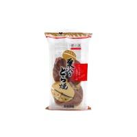 日本进口栗子味铜锣烧142g(2枚)
