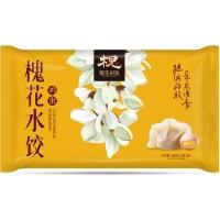 广平槐花鸡蛋水饺360g(18只)