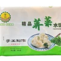 素食经典手工荠菜水饺285g