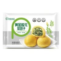 五谷黄金槐花菜团子600g
