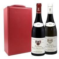 法国勃艮第上博纳山坡红白葡萄酒礼盒