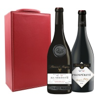 法国贝玛格雷红葡萄酒双支礼盒750ml×2