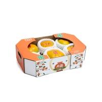 富有脆柿6粒礼盒装