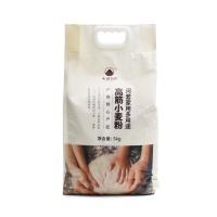 大地厨房河套家用多用途高筋小麦粉5kg-2021新面