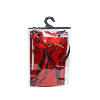 万圣节红色细纱披风